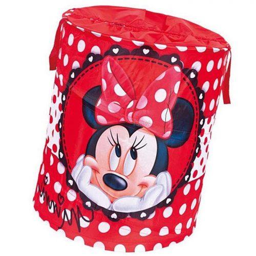 Disney składany kosz na zabawki Pop  Up okrągły - Minnie 35x35x51