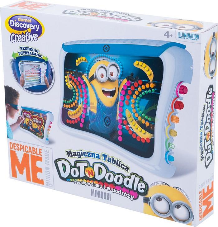 Dumel Magiczna Tablica Minionki manualna zabawka DD37174