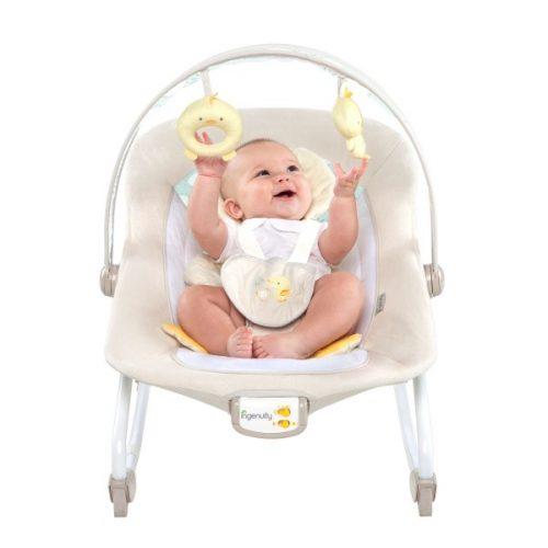 Leżaczek dla niemowląt  BS10251 Bright Stars Kaczuszka