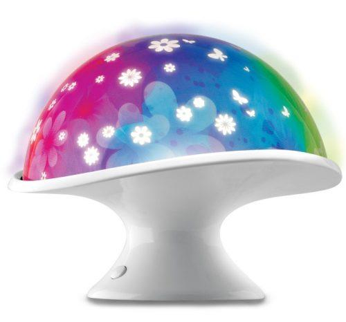 Dumel Kolorowy projektor do pokoju dziecięcego DD2077