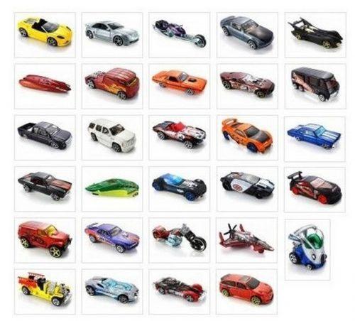 Hot Wheels małe samochodziki