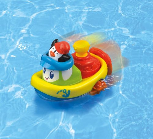 Dumel Nakręcona Łódka pływam i jeżdże do kąpieli DD443250