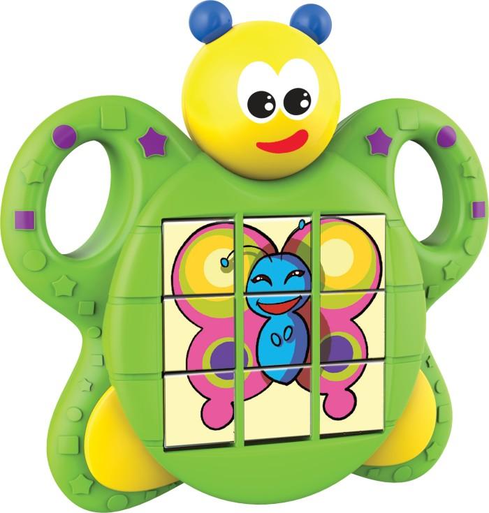 Dumel Motylek - trzy różne układanki puzle dla niemowląt DD6726