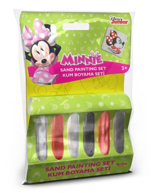 Disney Kolorowy piasek do tworzenia piaskowych obrazów - mały zestaw -  Minnie