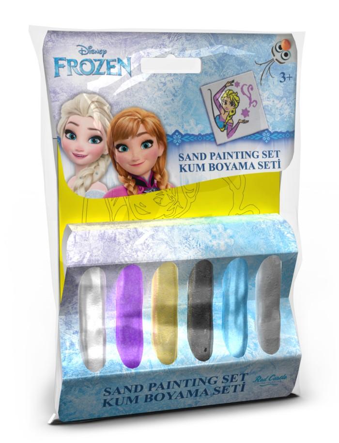 Disney Kolorowy piasek do tworzenia piaskowych obrazów - mały zestaw - Frozen Elsa