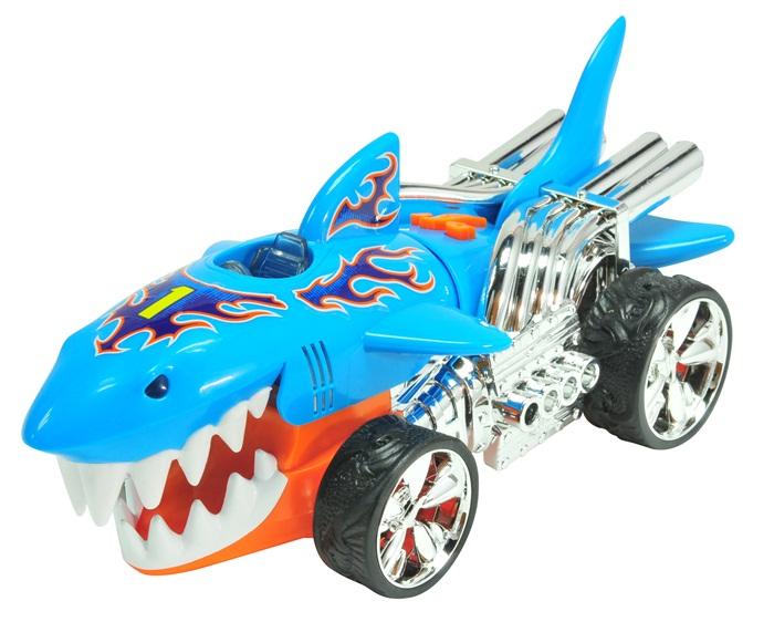 Dumel Hot Wheels Extreme Action L&S Sharkruiser, pojazd rekin