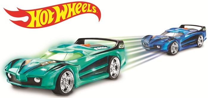 Hot Wheels Hyper Racer Spin King samochód z napędem zielony 90532