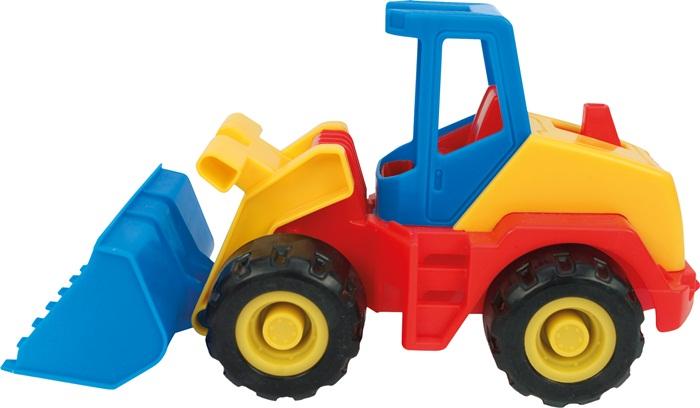 Multi Truck ciężarówka z koparką bądź walcem, Wader 32240