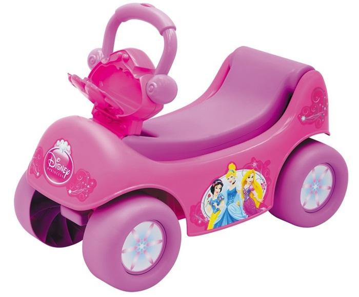 Princess odpychacz 2w1 z muzyką 2842 pchacz pojazd dla dzieci
