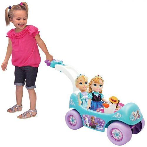 Frozen odpychacz 2w1 z muzyką 2866 Pchacz pojazd dla dzieci