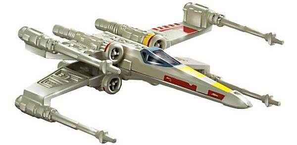 Mattel Hot Wheels Star Wars Statek Kosmiczny Mix CGW52 X Wing Fighter CGW52