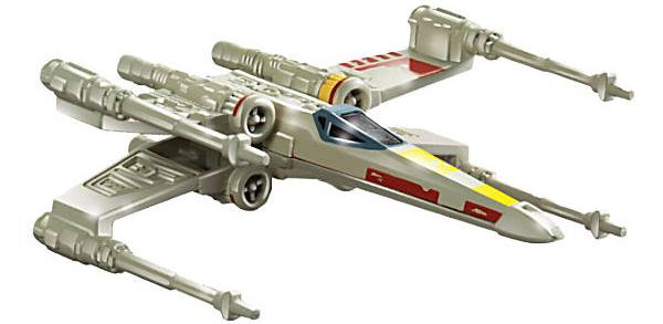 Mattel Hot Wheels Star Wars Statek Kosmiczny Mix CGW52 X Wing Fighter CGW52