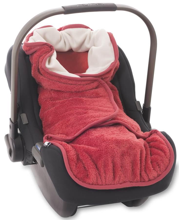 Śpiworek Wrap mały do fotelika, wózka i kocyk 3w1 - technologia Air Layer 3D, AeroMoov Coral