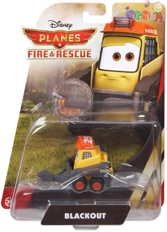 Samoloty filmowe Fire and rescue z bajki Disneya Samoloty Planes BDB92 Blackout koparka