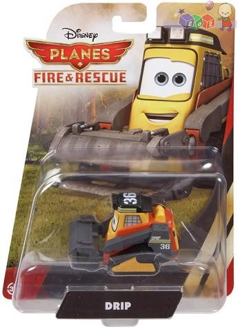 Samoloty filmowe Fire and rescue z bajki Disneya Samoloty Planes CBK61 Drip spychacz