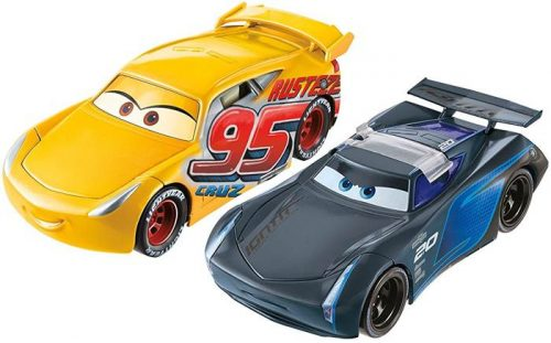 Cars auta z bajki  Odjazdowe fikołki - fcx95 dwa samochody