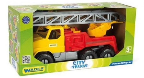 Ciężarówka City Truck 40 cm Wader 32600 Ciężarówka z drabiną