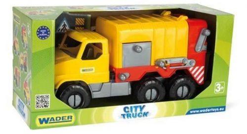 Ciężarówka City Truck 40 cm Wader 32600  Śmieciarka