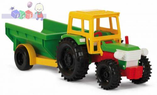 Traktor z przyczepą Wader Wywrotka 35001