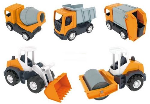 Wader auta tech truck budowlany Śmieciarka 35360