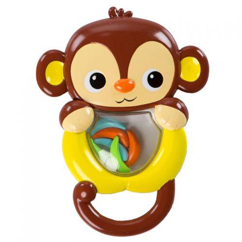 Grzechotka plastikowa dla niemowląt przyjaciele z tropików Małpka Bright Starts
