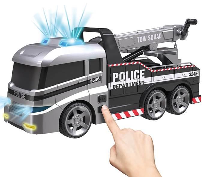 Dumel Flota Miejska Ciężarówka Policyjna HT63961