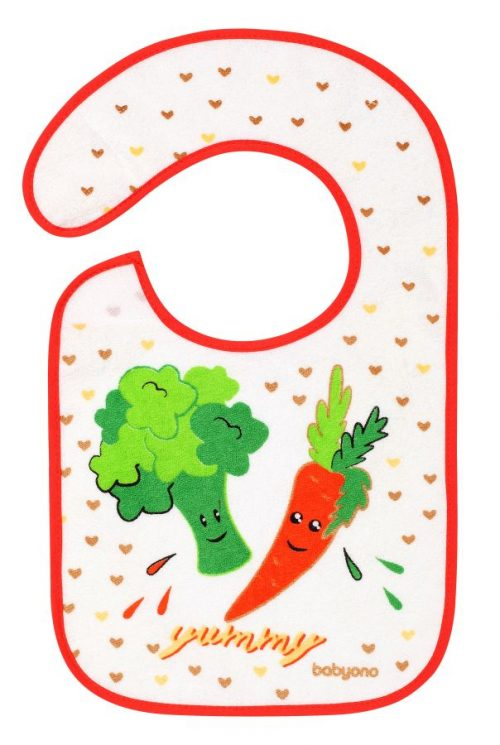 BabyOno śliniak frotte flavor explorer 6m+ Warzywa