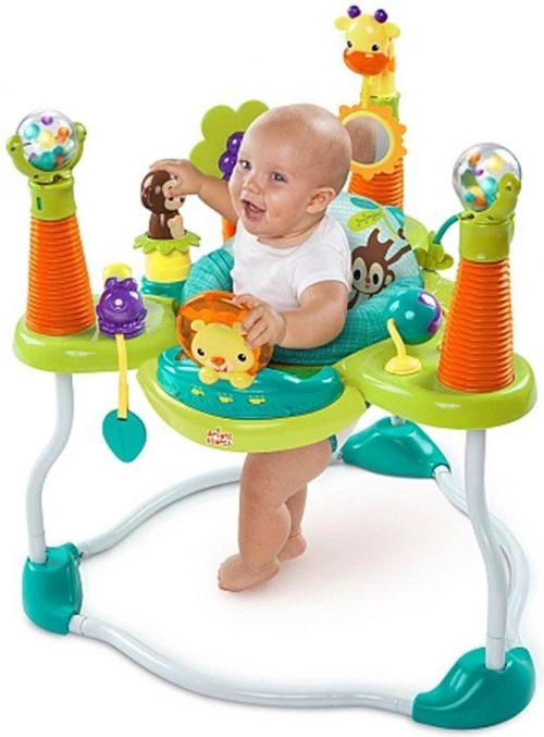 Skoczek dla dzieci Jumper Safari z zabawkami Bright Starts BS10861