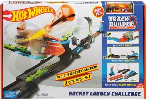 Wyrzutnia rakiet - zestaw Hot Wheels FLK60