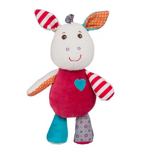 Zabawka z dźwiękiem BabyOno - Frankie maskotka