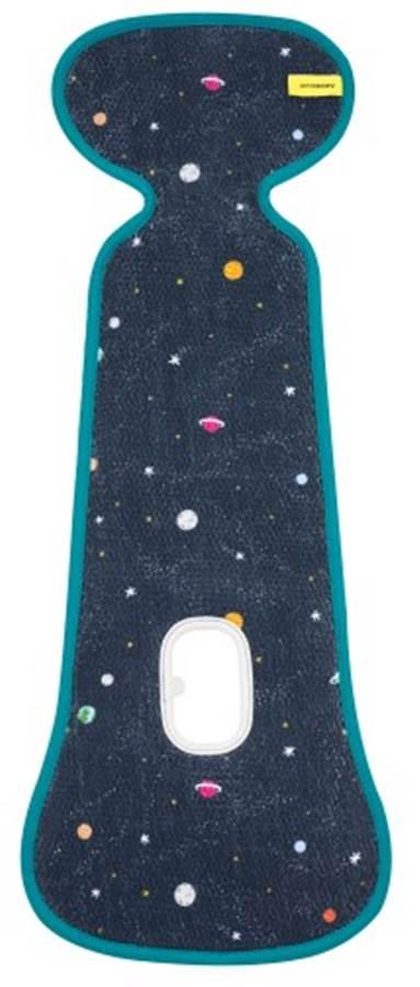 Wkładka do fotelika 9-18 kg zapobiegająca poceniu o strukturze plastra miodu, AeroMoov Stars Planets