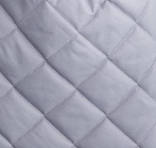 Uniwersalny śpiworek do wózka z futerkiem Belisima Szary pikowany