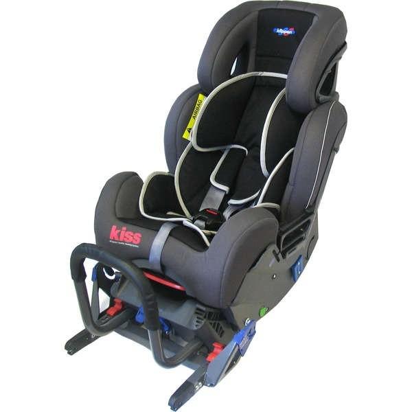 Fotelik samochodowy Klippan Kiss 2 Plus 0-18 kg - tyłem do kierunku jazdy - montaż za pomocą isofixu lub pasów