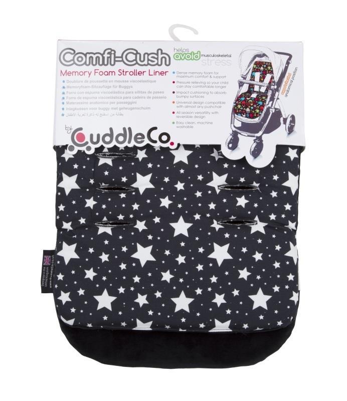 Wkładka do wózka Comfi-Cush z pianką Memory Gwiazdki