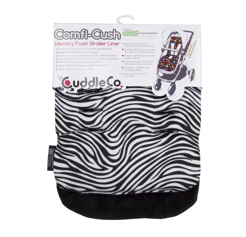 Wkładka do wózka Comfi-Cush z pianką Memory Zebra