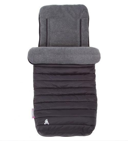 Śpiworek do wózka - wkładka do wózka 2w1 Comfi-Snug Czarny