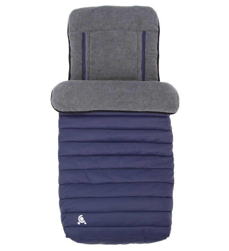 Śpiworek do wózka - wkładka do wózka 2w1 Comfi-Snug Granatowy