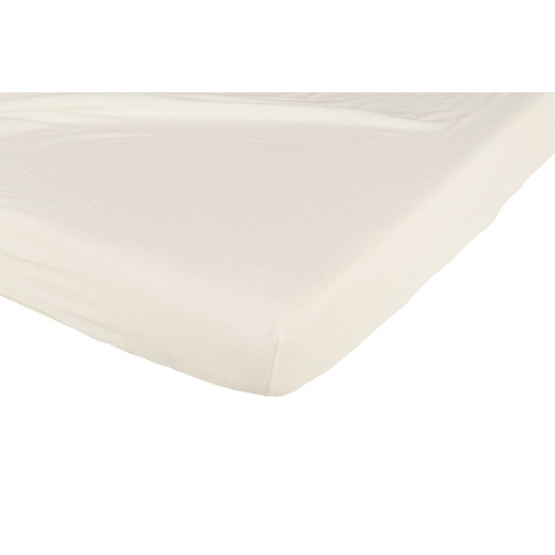 Prześcieradło do łożeczka 120x60 bawełniane Białe Candide