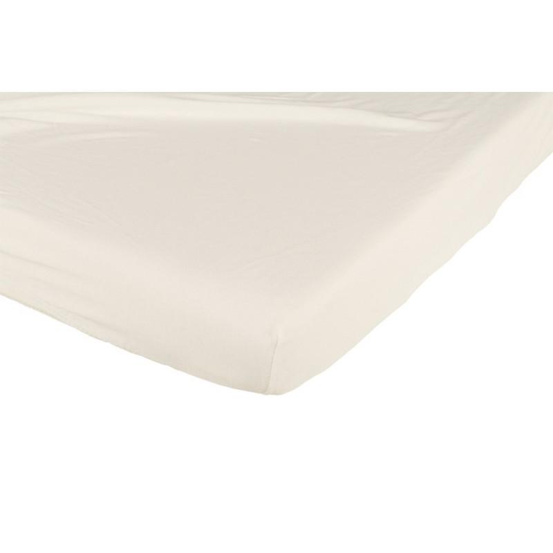 Białe prześcieradlo do łóżeczka 140x70 Candide