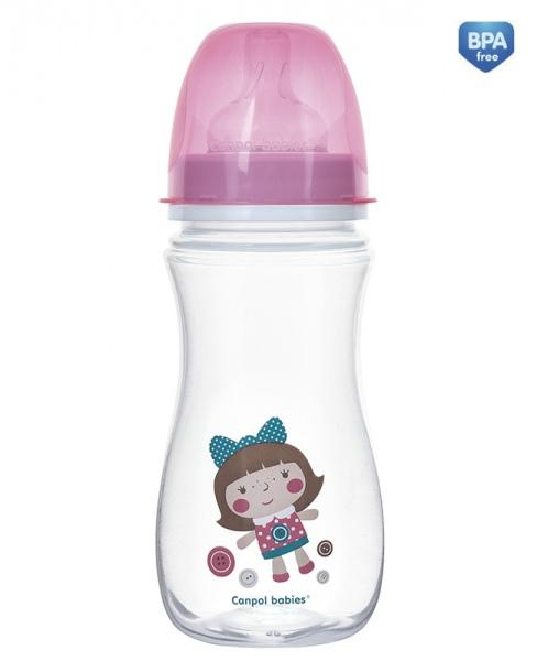 Butelka antykolkowa do karmienia Easy Start 300 ml Toys kolor Różowa