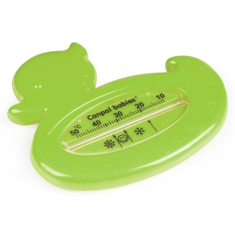Bezrtęciowy termometr do kąpieli Canpol Babies Kaczuszka Zielona