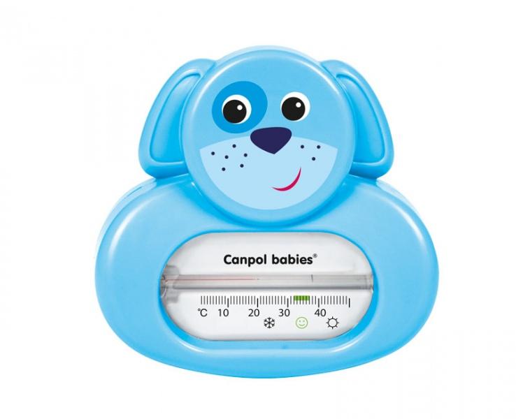 Bezrtęciowy termometr do kąpieli Canpol Babies Piesek Turkusowy