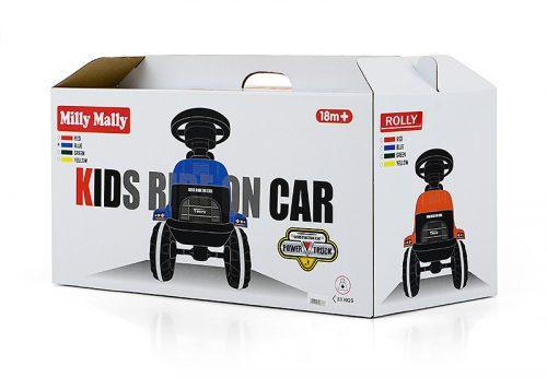 Pchacz jeździk dla dziecka Rolly czerowny