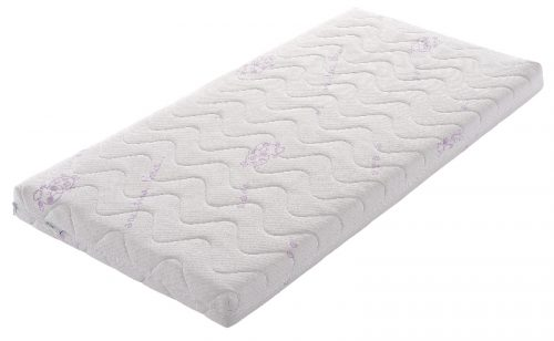 Materac do łóżeczka 140x70 lateksowy Kazumi Gel Tecomat  pokrowiec krowa