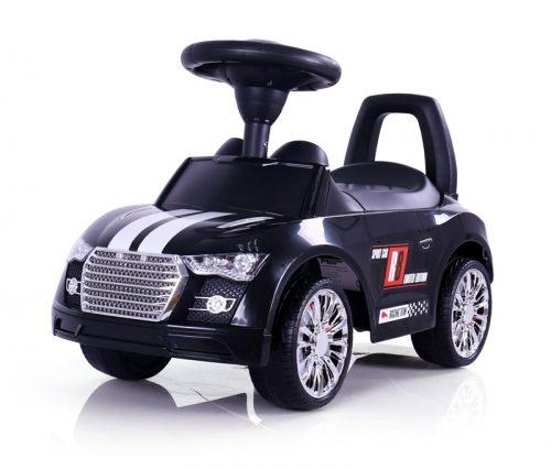 Pchacz pojazd dla dzieci jeżdzik Racer Milly Mally czarny