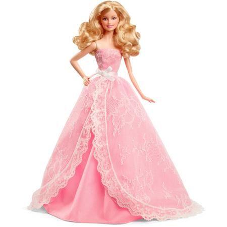 Lalka Barbie - Urodzinowe Życzenia Mattel CFG03