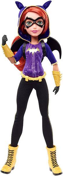 Barbie Lalki Superbohaterki - Mattel BatGirl DLT64