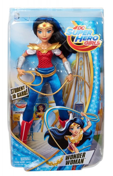 Barbie Lalki Superbohaterki - Mattel WonderWoman DLT62
