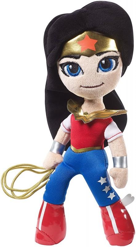 Barbiei superbohaterki - miniprzytulanki DWH55 lalka przytulanka DWH56