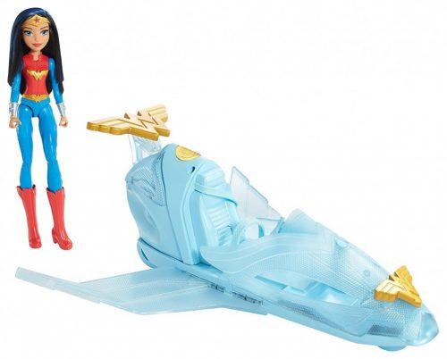 Barbie Superboh Odrzutowiec Wonder Woman DYN05